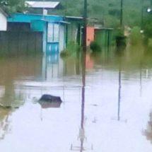 Protección civil se encuentra al pendiente de las colonias  inundadas