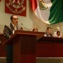 Presenta Horacio Antonio Iniciativa de Protección de Datos Personales