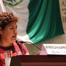 Propone Neli Espinosa, Reforma para frenar  impunidad; y castigar severamente a feminicidas