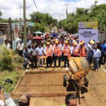 Diputado Toribio López Sánchez, inicia obras en beneficio de la ciudadanía, en Cuilápam de Guerrero