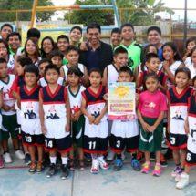 López Jarquín invita a niñez y juventud de Xoxocoltán para participar en cursos de verano