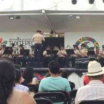 Éxito rotundo el concierto de la Banda de Música del la VIII Región Militar en Tuxtepec