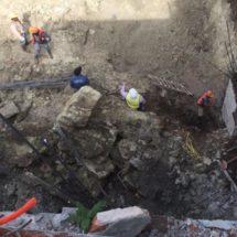 En riesgo estudiantes y profesores de la Secundaria Técnica 1 en Oaxaca, por obras de hotel