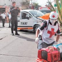 Estrellados: 2 pintores fueron hospitalizados