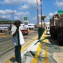 Antes del próximo tequio quedarán instaladas las mallas del boulevard Benito Juárez