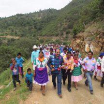 Con obras de infraestructura, mejora Horacio Antonio calidad de vida en la
