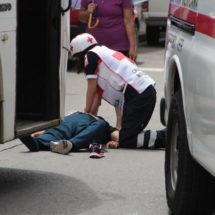 Muere mujer arrollada por autobús