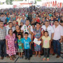 Difunde Diputado Samuel Gurrión Matías labor parlamentaria en comunidades de la Cuenca, la gente lo considera un aliado de sus causas