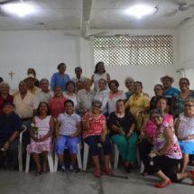En convivencia con María Luisa Vallejo García… ADULTOS MAYORES RECONOCEN TRATO EJEMPLAR  DEL  PRESIDENTE MUNICIPAL Y LA PRESIDENTA DIF