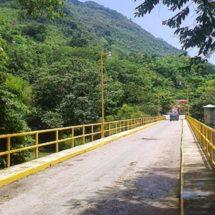 Invertirá el municipio de Jacatepec cinco millones de pesos para rehabilitar el puente vehicular