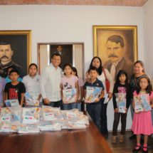 Inicia Diputado Samuel Gurrión Matías entrega del Programa de Útiles Escolares a la niñez oaxaqueña