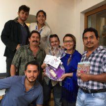 Se reúne Leslie Zavaleta con autoridades del Mazunte