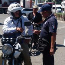 Exhortará policía vial del estado a motociclistas al uso del casco protector
