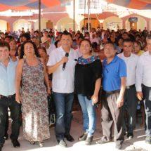 El Legislador Samuel Gurrión Matías trabaja y beneficia a todos por igual: Pdta de Huajolotitlán