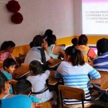 Brindan atención lingüística integral a niñas y niños de Xoxocotlán