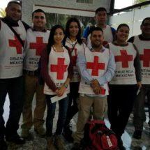 Cruz Roja de México envía 33 socorristas a Texas para ayudar tras el paso de Harvey