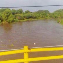 Aumenta el caudal del río Los Perros en el Istmo, Oaxaca