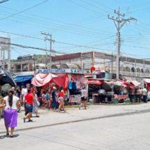 Vetusto y olvidado, mercado de Salina Cruz, Oaxaca