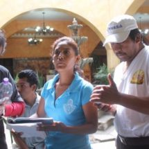 Trabajaron en la Feria de Huajuapan y la fecha, no les han pagado por su servicio de limpia