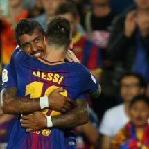 Paulinho, el socio inesperado de Messi