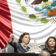 Seguirá Murguía como presidenta de Diputados hasta septiembre 5