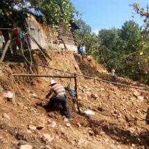 Ahora se hunde la tierra en la región Mixteca de Oaxaca