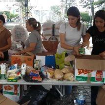Fluye ayuda para damnificados en centros de acopio de Tepic