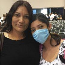 Mi mamá me dio la vida dos veces: Joven trasplantada