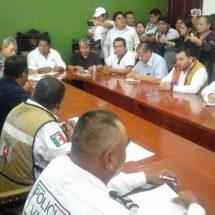 Tras últimas lluvias… Se instala en Sesión permanente el Consejo de Protección Civil