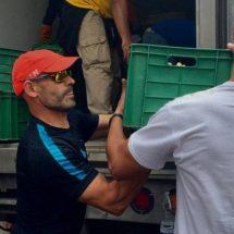 Paco Jémez apoya en recolección de víveres para damnificados