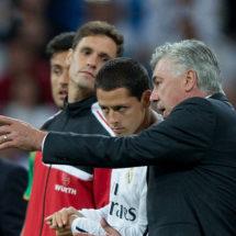 ¿Reencuentro entre Chicharito y Carlo Ancelotti?
