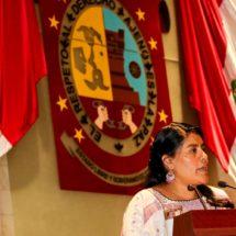 Es tiempo de cumplir y hacer cumplir los derechos humanos en Oaxaca: Eufrosina Cruz