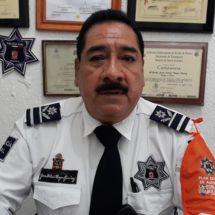 Policía vial del estado en alerta ante contingencias en la Cuenca
