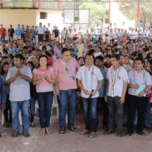Giras Legislativas del Diputado Local Samuel Gurrión Matías visitan pueblos de San Miguel del Puerto