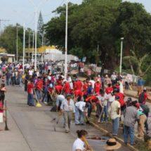 Tequios en el muro boulevard deben ser continuos: Nayo Soriano