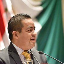 Congreso exhorta al Titular del Poder Ejecutivo Estatal solicitar declaratoria de desastres naturales. Diputado Toribio López Sánchez