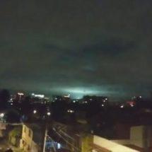 ¿Ovnis? la explicación de las misteriosas luces del terremoto en México