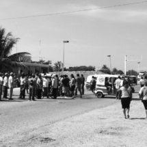Instalan cinco bloqueos en el Istmo, Oaxaca