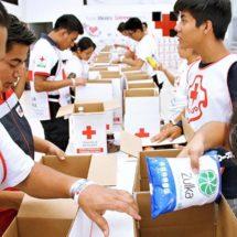 Cruz Roja entrega 36 toneladas de víveres en el Istmo, Oaxaca