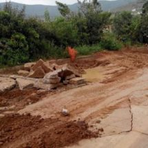 Vecinos de La Chigulera San Felipe exigen conclusión de obra de drenaje