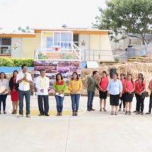Trabajamos para fortalecer la educación y desarrollo social en Xoxocotlán: López Jarquín