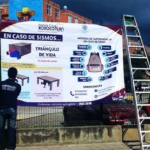 En Xoxocotlán promueven estrategias de seguridad ante fenómenos naturales