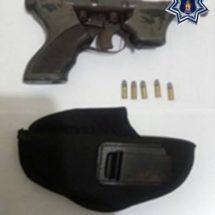 REPORTA POLICÍA ESTATAL DOS DETENIDOS EN DONAJÍ, MATÍAS ROMERO; LLEVABAN UN ARMA DE FUEGO Y MUNICIONES