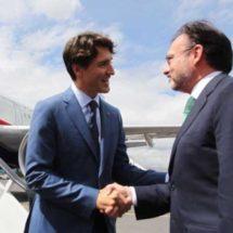 Justin Trudeau llega a México y visita la Cruz Roja
