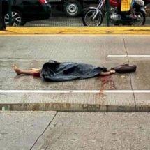Urbano aplasta y mata a mujer en el boulevard