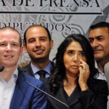 Candidatos para 2018 emanarán de elección ciudadana: PAN, PRD y MC
