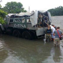 Suman dos muertos y 18 mil damnificados por lluvias en Tamaulipas