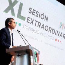 PRI, listo para vencer al populismo y al Frente 'sin pies ni cabeza': Ochoa Reza