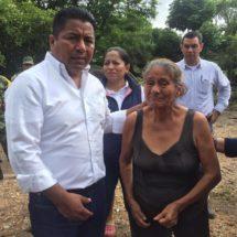 No están solos dicen Fernando Dávila e Ivette Morán a damnificados