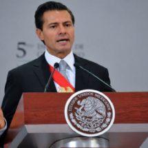 Peña Nieto condena ataque en Las Vegas